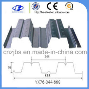 China High Quality Corrugated Structural Galvanized Steel Floor Decking Sheet pictures & photos