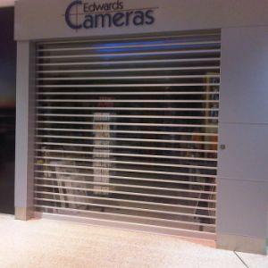 Transparent PVC Rolling up Polycarbonate Door (Hz-TD02) pictures & photos