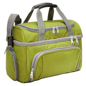 Big Capacity Two Main Compartments Insulated Lunch Cooler Bag pictures & photos