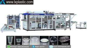 Tilt-Mold Cup Thermo Forming Machines pictures & photos