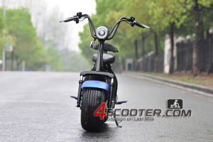 60V 1500W Hot Selling EEC Approved Electric Citycoco Harley Scooter pictures & photos