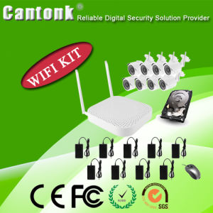 8CH Full CCTV Package WiFi Bullect Camera NVR Kit (wifipy420) pictures & photos