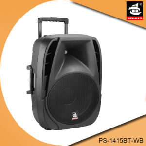 15 Inch Portable Battery Active Multifunction Bluetooth Speaker with FM Radio pictures & photos
