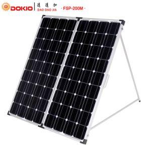 200W Monocrystalline Foldable Solar Panel pictures & photos