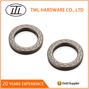 Popular D Ring Engraved Metal O Ring for Bag Handbag pictures & photos