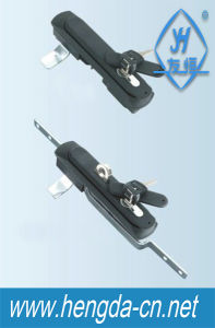 High Quality Insdustrial Sliding Door Rod Control Lock with Key (YH8008) pictures & photos