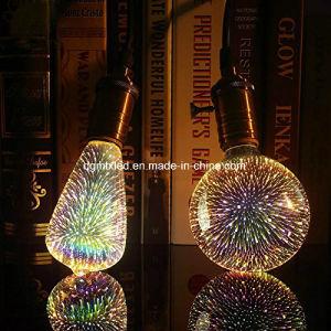 Hot sale 3D laser bulb G125 yellow/golden pictures & photos