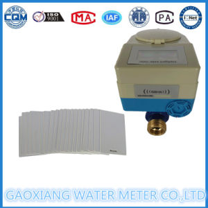 Domestic Cold Prepaid Water Meter with Prepaid Card pictures & photos