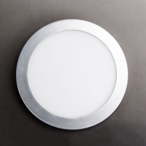Aluminum and Plastic Indoor 18W Round LED Panel Light pictures & photos