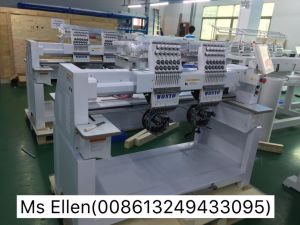 Wonyo 2 Head Commercial Embroidery Machine for Caps Wy1202c pictures & photos