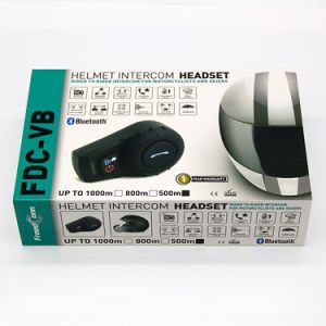 Mini Portable Media Player Bluetooth Intercom Interphone for Helmet pictures & photos