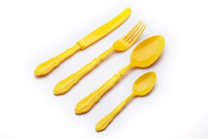 The Most Deluxe Plastic Cutlery Jx112-1 pictures & photos