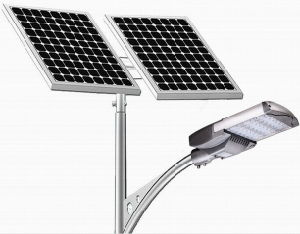 80W Solar PV LED Street Light pictures & photos