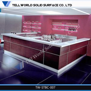 Tw Corian Acrylic Modern Restaurant Bar Counter/Pub Bar Counter pictures & photos