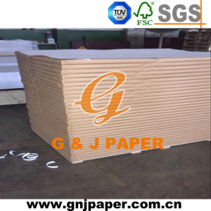 300GSM Coated Recycled Duplex Board in Grey Back pictures & photos