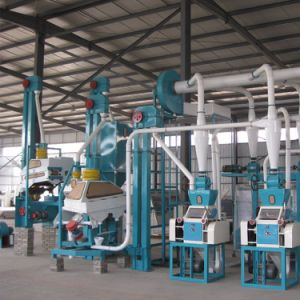 10t/24h Fully Automatic Wheat Flour Mill Machinery pictures & photos