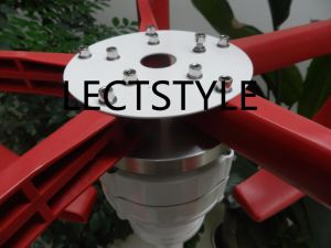 200W 12V24VDC Vertical Axis Wind Turbine Generator for Sale Light pictures & photos