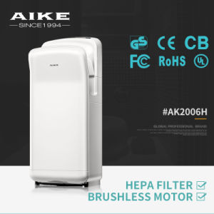 Most Competitive Automatic Sensor Electric Hand Dryer (ABS, Brushless DC Motor, CE Certificate, AK2006H) pictures & photos