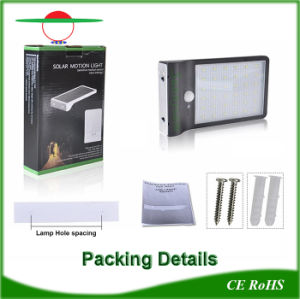 36LEDs Waterroof Outdoor Bright Dim Illumination Motion Sensor Solar Lighting pictures & photos