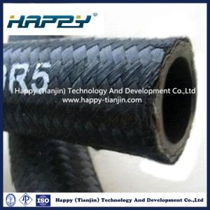 Textile Covered Steel Wire Braided Rubber Hydraulic Hose R5 pictures & photos