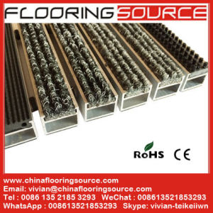 Aluminum Entrance Recessed Floor Mat Dirt Remove for Commercial Building