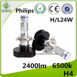 Philips H4 Auto LED Headlight 24W 2400lm pictures & photos