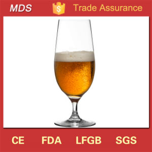 Stemmed Lead-Free Premium Crystal Beverage Beer Glass pictures & photos