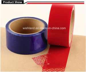 Partial Transfer Tamper Evident Security Void Tape