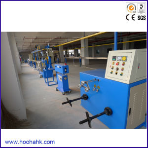 PVC/PE Power Wire Extruder Machine pictures & photos