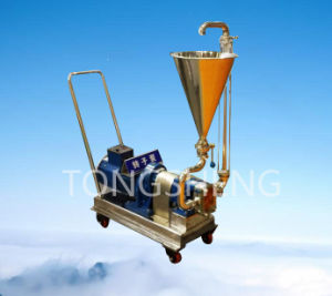 Stainless Steel Sanitary Pump with Hopper