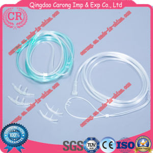 Medical Supplies Oxygen Tube Disposable PVC Nasal Oxygen Cannula pictures & photos