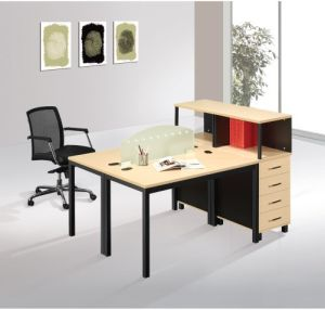 Office Furniture Workstation Desk with Aluminium Partition (M203)