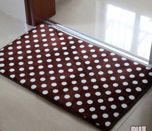 2016 Wholesale Summer Home Decor Quilted Fabric Floor Mat pictures & photos
