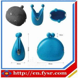 2012 Waterproof Durable/New Arrival/Fashion Promotion Silicone Coin Wallet ,Silicone Coin Purse (FY-SW001)