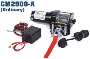 2500lbs ATV/Utility Electric Winch Portable Small Good Quality CE Approved Cheap pictures & photos