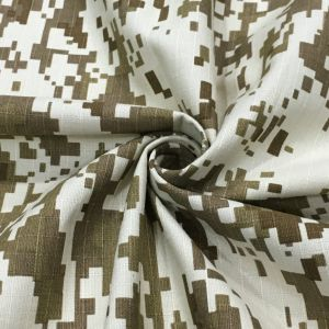 Desert Camouflage Fabric Same Design with Jung-Ki Song pictures & photos