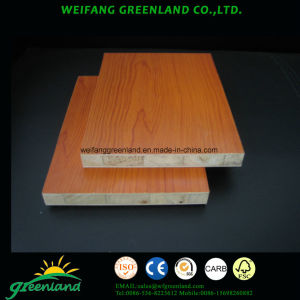 18mm Melamine Block Board with Falcata Core pictures & photos