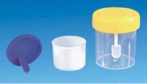 40ml Medicine Specimen Container (stool with spoon)
