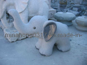 G603 Grey Granite Sculpture for Garden Decoration/Carving Animal Sculpture pictures & photos