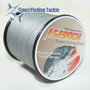 Grey 300m Braided Fishing Line for 2013