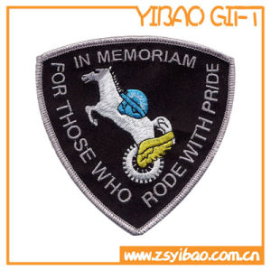 Souvenir Badge Fuzzy Patch for Garment Accessories (YB-pH-30) pictures & photos