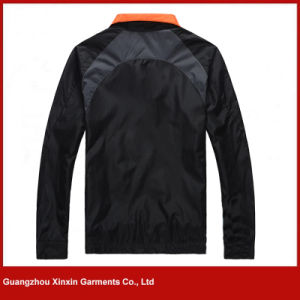 Customized High Quality Nylon Jacket Coat Supplier (J144) pictures & photos