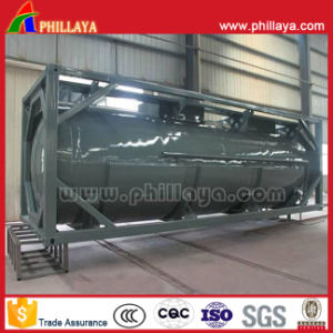 20FT 24000L High Strength Carbon Steel LPG Tank Container pictures & photos