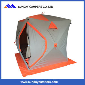 Pop-up Ice Fishing Tent for Winter Camping Pull out Tent pictures & photos