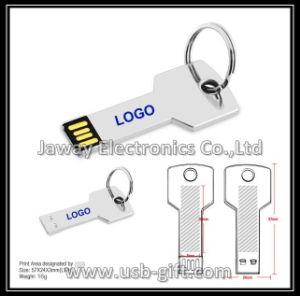 4GB Novelty Metal Key Shape USB Flash Drive U Disk