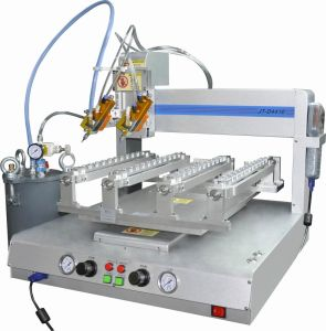Automatic LED Strip Glue Pouring Machine pictures & photos