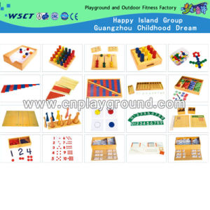 Wooden Montessori Number Game for Kids (HC-241) pictures & photos