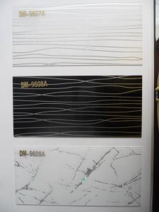 1mm Acrylic Sheets for Kitchen Cabinets (ZHUV) pictures & photos