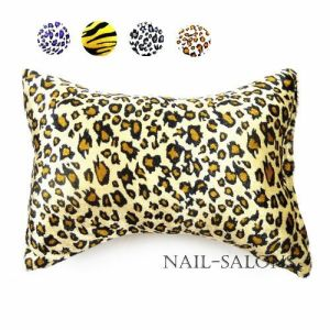 Leopard Print Hand Cushion Hand Pillow for Nail Art Professional Manicure