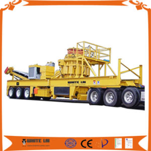 Customized Portable Crushing Plant, Portable Cone Crusher (WLC1300) pictures & photos